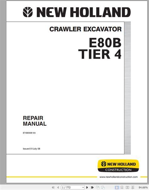 New Holland Cr Service Manual
