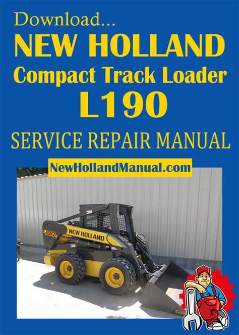 New Holland L190 Manual