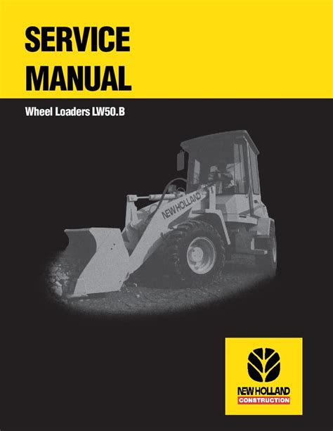 New Holland Lw50 Service Manual
