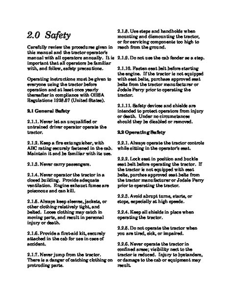 New Holland Tc29 Owner User Manual Guide