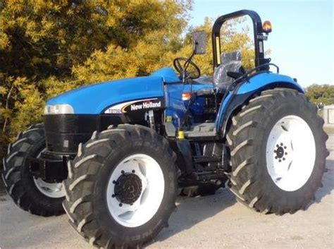 New Holland Td75d Td95d With Pedals Mounted Td95d High Clearance Tractor Operators Manual