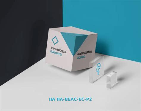 New IIA-BEAC-EC-P3 Dumps Sheet