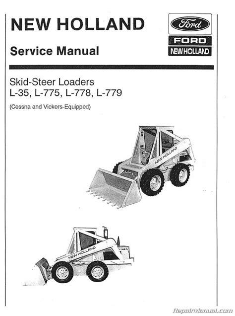 Nh L775 Skid Steer Service Manual
