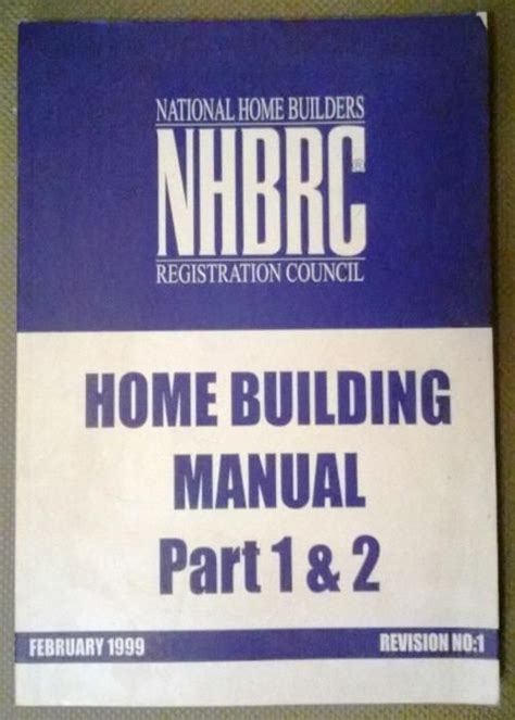 Nhbrc Homebuilding Manual Part 1