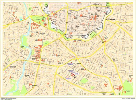 Nicosia (Cyprus Pocket Road & Tourist Maps)
