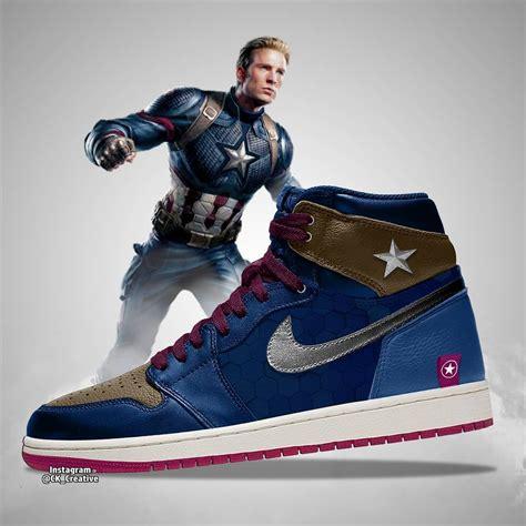 Nike Air Jordan Mens Nike Jordan Captain America C 5_534