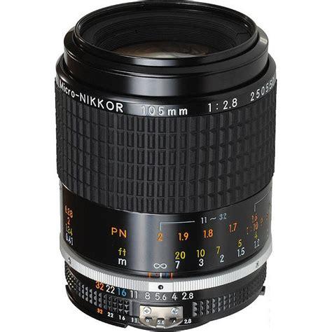Nikon Manual Focus 105mm F25 Lens