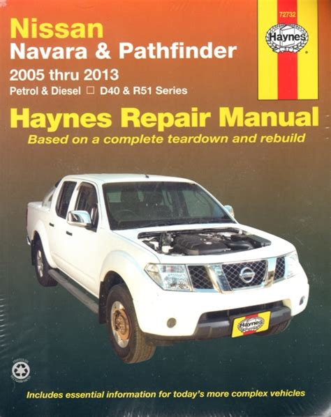 Nissan Navara D40 Workshop Manual Haynes