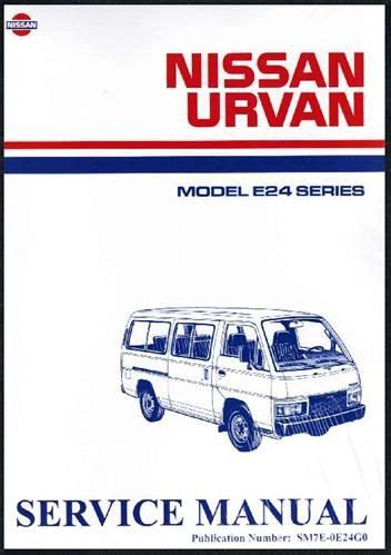 Nissan Owners Manual E24