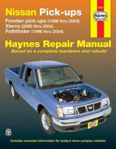 Nissan Pathfinder Full Service Repair Manual 1996