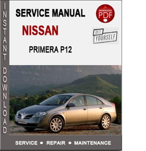 Nissan Primera P12 Repair Manual