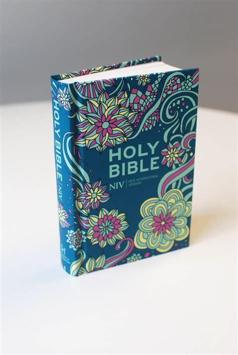 Niv Pocket Floral Hardback Bible New International Version