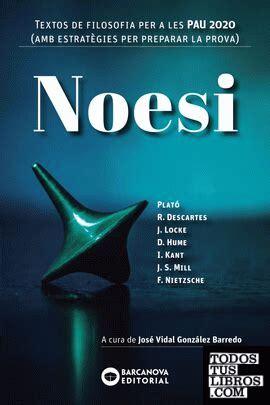 Noesi Textos De Filosofia Per A Les Pau 2020 Materials Educatius Batxillerat Materies Comunes