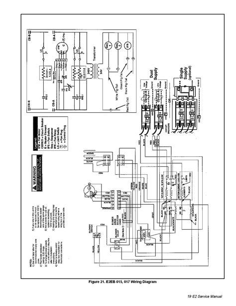 Nordyne E2eh 015ha Wiring Diagram