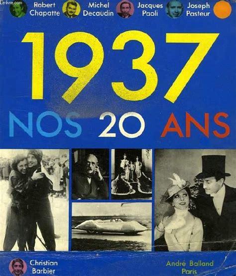 Nos vingt ans 1937