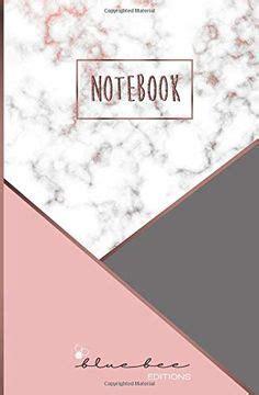 Notebook Cuaderno Con Paginas De Puntos Marmol