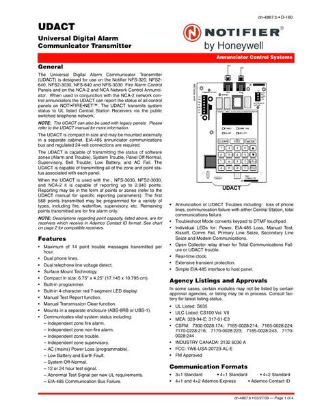 Notifier System 5000 Manual