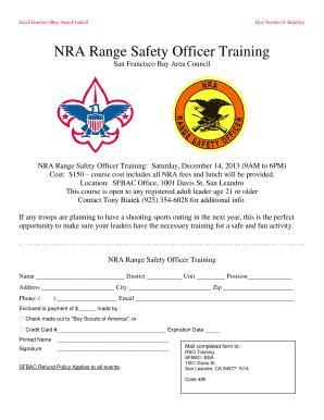 Nra Range Safety Officer Manual