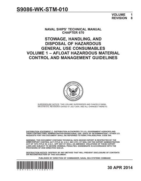 Nstm Chapter 611 Manual