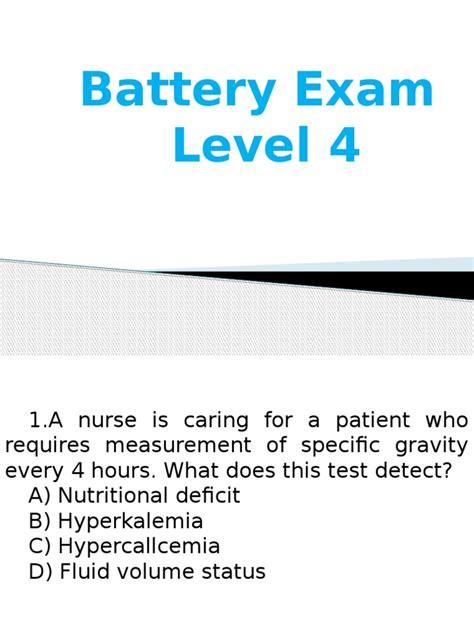 Nurse Battery Test Study Guide
