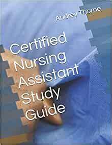 Nursing Assistatant Study Guide