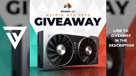 Nvidia GeForce RTX 2070 Giveaway