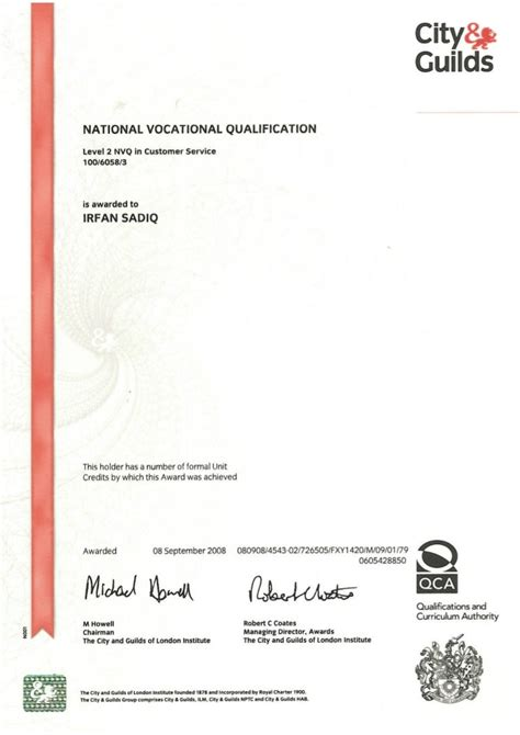 Nvq Level 2 Customer Services Answers