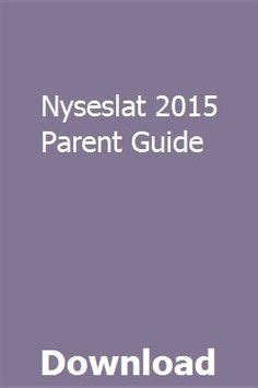 Nyseslat 2013 Parent Guide