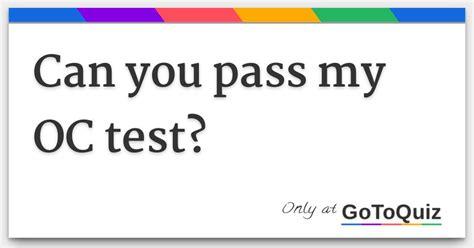 OC-14 Pass Test