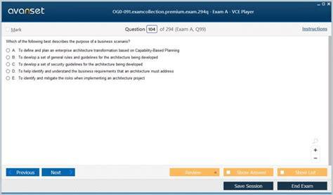 OG0-041 Valid Test Pattern