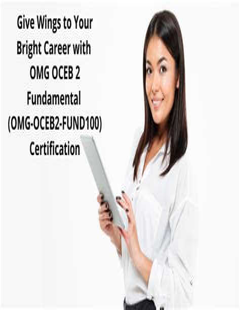 OMG-OCEB2-FUND100 Cert Exam