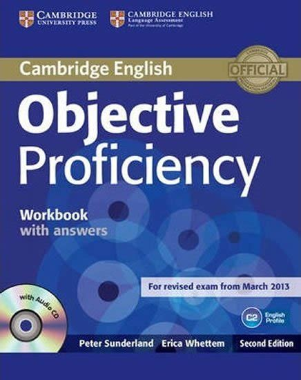 Objective Proficiency Workbook With Answers With Audio Cd By Sunderland Peter 2013 Paperback