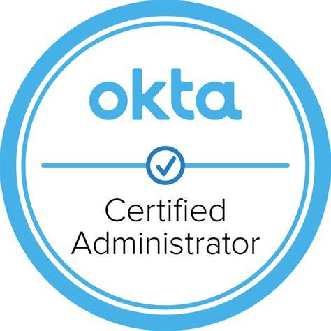 Okta-Certified-Administrator Exam
