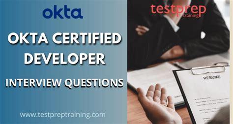 Okta-Certified-Developer Practice Questions