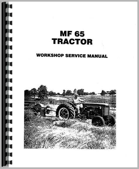 Old Massey Ferguson 65 Manual