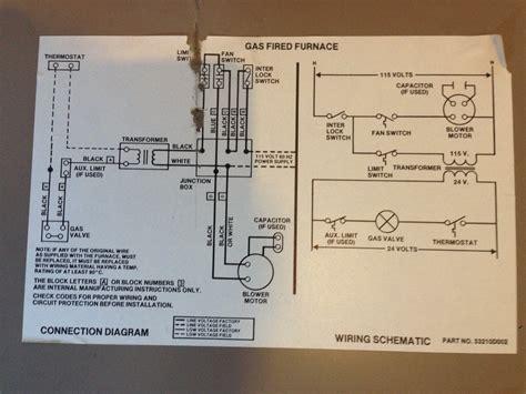 Older Coleman Gas Furnace Wiring Diagrams