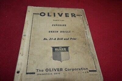 Oliver Superior Grain Drill Manual