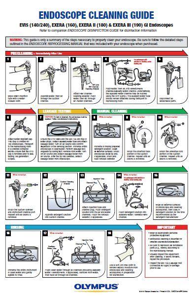 Olympus Endoscope Instruction Manual