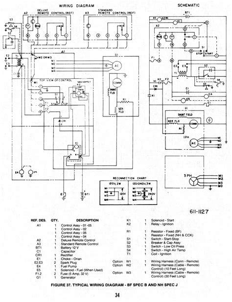 Onan Generator Wiring Schematic