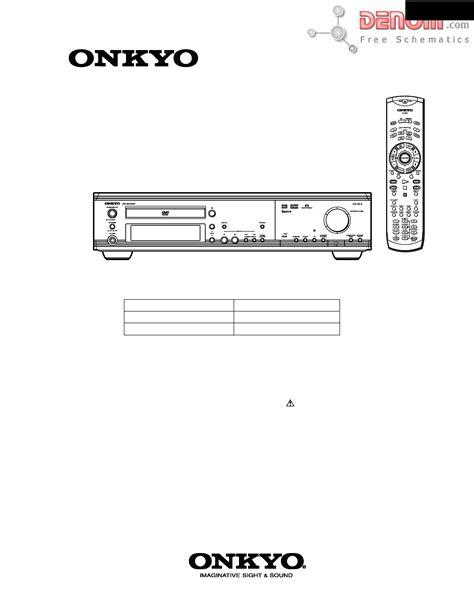 Onkyo Drs22 Manual
