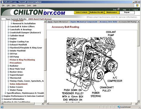 Online Car Repair Manuals Free