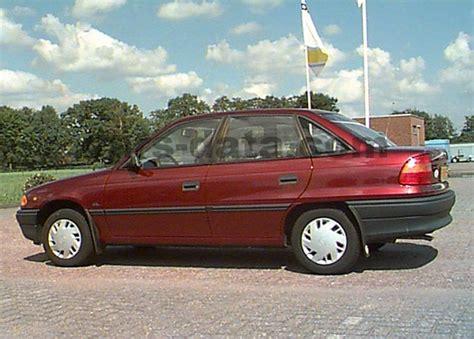 Opel Astra 1992 Manual