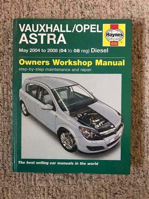 Opel Astra Haynes Manual