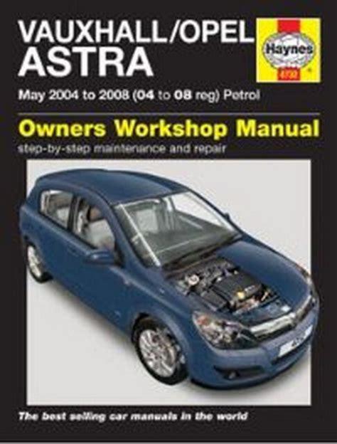 Opel Astra Petrol Workshop Manual