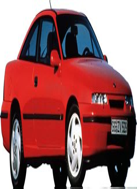 Opel Calibra 1990 1998 Workshop Service Repair Manual