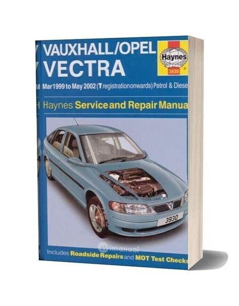 Opel Vectra B Haynes Manual