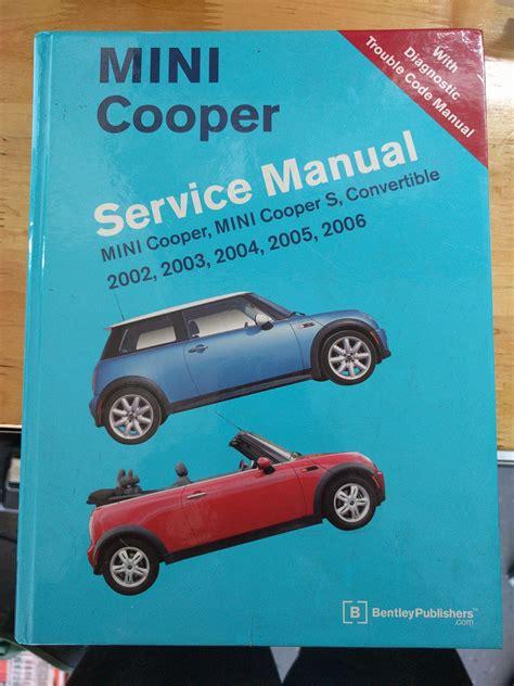 Operating Manual For A Mini Cooper