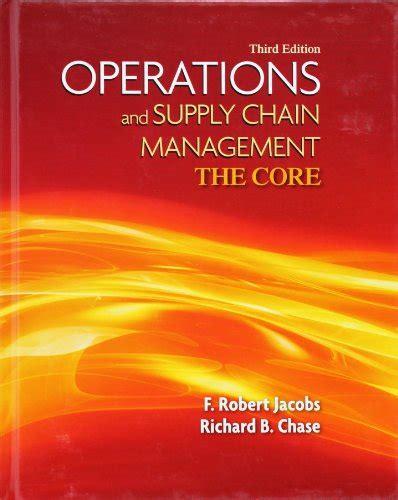 Operation Management 10th Edition Stevenson Manual