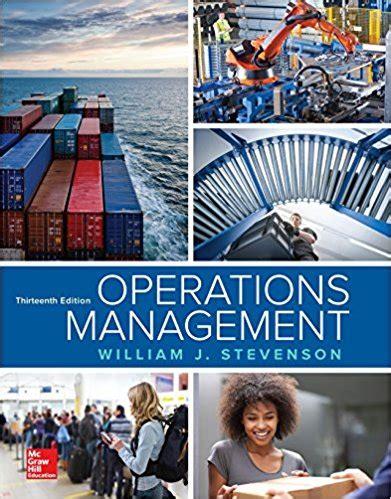 Operation Management Stevenson Solution Manual