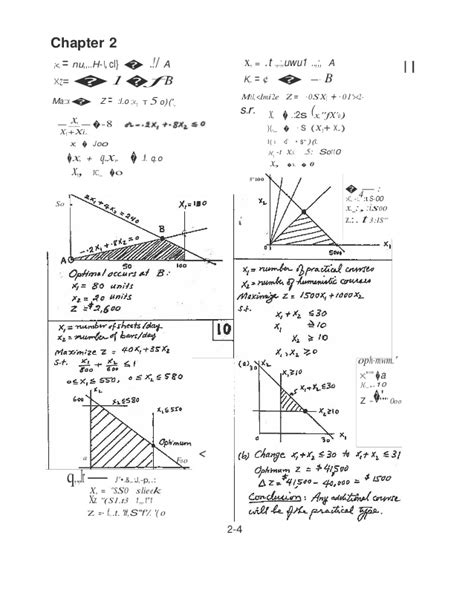 Operation Research Taha Solutions Manual